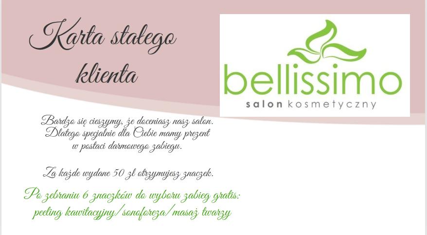 Cennik I Promocje Salon Kosmetyczny Pila